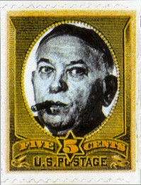 Mencken Five Cent Stamp